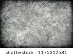 black and white grunge texture | Shutterstock . vector #1175312581