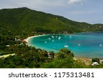 view of cane garden bay on... | Shutterstock . vector #1175313481