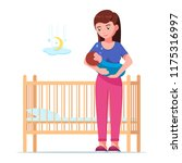 vector illustration of a young... | Shutterstock .eps vector #1175316997