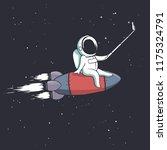 the astronaut photographs... | Shutterstock .eps vector #1175324791