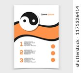 brochure or web banner design... | Shutterstock .eps vector #1175326414