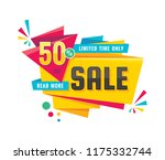 sale   creative banner vector... | Shutterstock .eps vector #1175332744