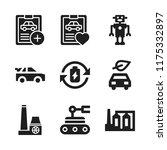 automotive icon. 9 automotive...   Shutterstock .eps vector #1175332897