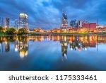 nashville  tennessee  usa... | Shutterstock . vector #1175333461