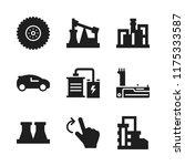automotive icon. 9 automotive...   Shutterstock .eps vector #1175333587