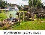 essex  uk   31 august  2018 ... | Shutterstock . vector #1175345287