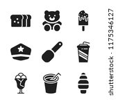 soft icon. 9 soft vector icons...   Shutterstock .eps vector #1175346127