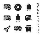 voyage icon. 9 voyage vector... | Shutterstock .eps vector #1175352847