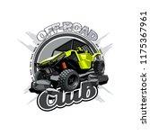 off road atv buggy logo  off... | Shutterstock .eps vector #1175367961