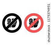 icon 3d ban  prohibition icon....