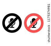 microphone ban  prohibition...
