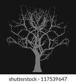 Dead Tree   Halloween Concept
