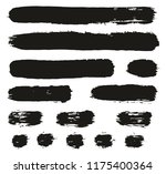 paint brush lines high detail... | Shutterstock .eps vector #1175400364