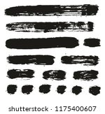paint brush lines high detail... | Shutterstock .eps vector #1175400607