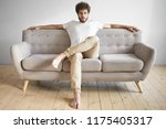 isolated portrait of... | Shutterstock . vector #1175405317