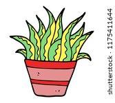 cartoon doodle plant | Shutterstock .eps vector #1175411644