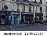 paris   october 06  2016 ... | Shutterstock . vector #1175413354