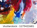 abstract art background.... | Shutterstock . vector #1175422681