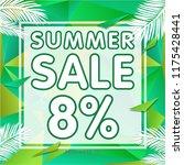 summer sale banner discount   Shutterstock .eps vector #1175428441