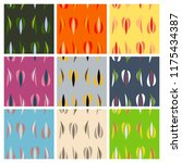 vector abstract simple pattern...   Shutterstock .eps vector #1175434387
