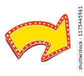 cartoon doodle lit up sign | Shutterstock .eps vector #1175445961