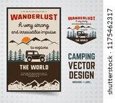 wanderlust logo emblem and...   Shutterstock .eps vector #1175462317