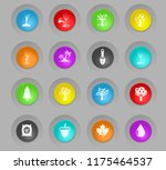 trees measuring tools colored... | Shutterstock .eps vector #1175464537