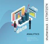 web analitycs concept | Shutterstock .eps vector #1175472574