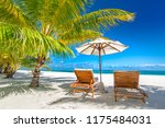 couple concept  beach summer... | Shutterstock . vector #1175484031