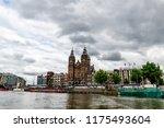 amsterdam  netherlands   12... | Shutterstock . vector #1175493604