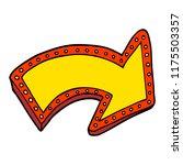 cartoon doodle lit up sign | Shutterstock .eps vector #1175503357
