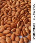 Close Up Apricot Brown Seeds....