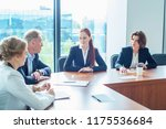 image of business partners... | Shutterstock . vector #1175536684