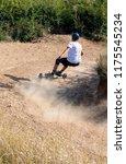 mountainboard rider during... | Shutterstock . vector #1175545234