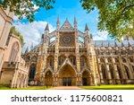 westminster abbey   collegiate... | Shutterstock . vector #1175600821