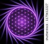 sacred geometry  abstract... | Shutterstock .eps vector #1175612227