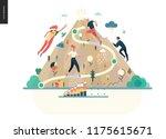 career  modern flat vector... | Shutterstock .eps vector #1175615671