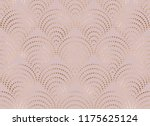 art deco seamless pattern with... | Shutterstock .eps vector #1175625124