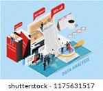 isometric flat design.concept...   Shutterstock .eps vector #1175631517