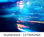 programming code abstract... | Shutterstock . vector #1175642464