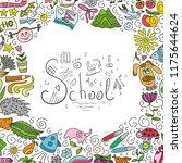 school. vector illustration | Shutterstock .eps vector #1175644624