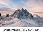 panorama majestic mountain...   Shutterstock . vector #1175648134