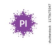 Initial Pi With Technology Logo ...