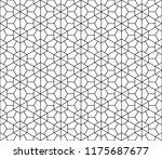 japanese seamless kumiko... | Shutterstock .eps vector #1175687677