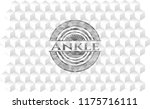 ankle grey emblem with cube... | Shutterstock .eps vector #1175716111