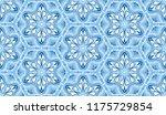 seamless winter texture. frosty ...   Shutterstock .eps vector #1175729854