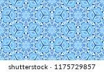 seamless winter texture. frosty ...   Shutterstock .eps vector #1175729857
