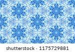 seamless winter texture. frosty ...   Shutterstock .eps vector #1175729881