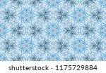 seamless winter texture. frosty ...   Shutterstock .eps vector #1175729884
