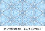 seamless winter texture. frosty ...   Shutterstock .eps vector #1175729887
